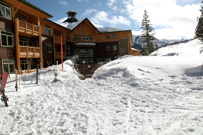 A true ski-in, ski-out property